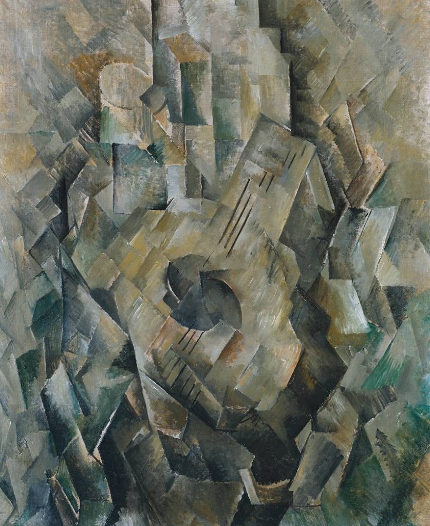 Mandora 1909-10 by Georges Braque 1882-1963