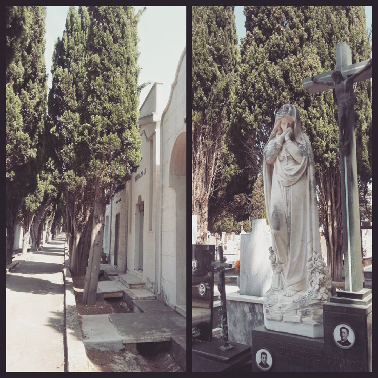 kyrkogård staty