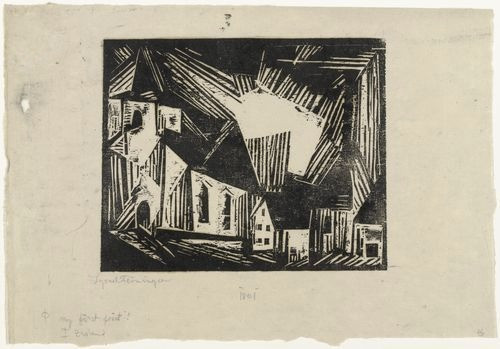 55597862601 - german expressionists lyonel feininger church