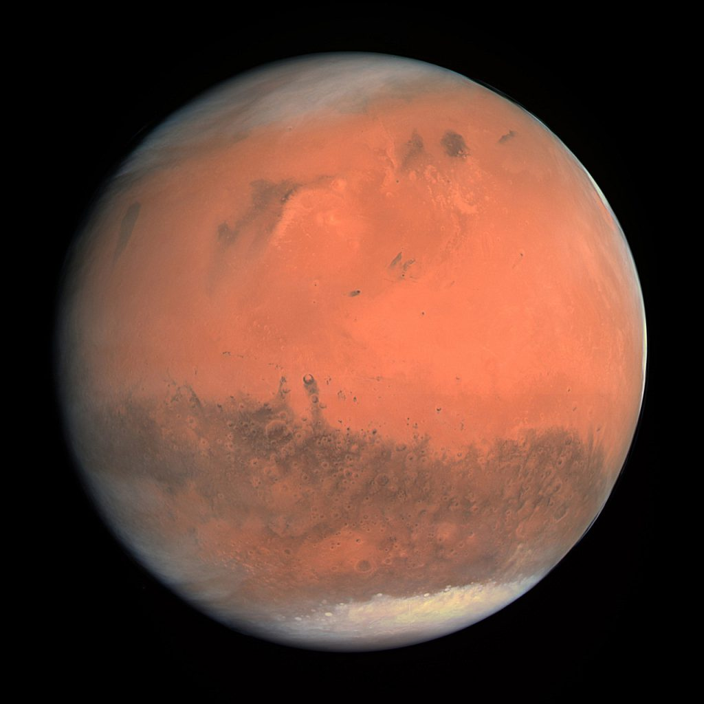 124526744596 - justspace mars as seen by rosseta during a