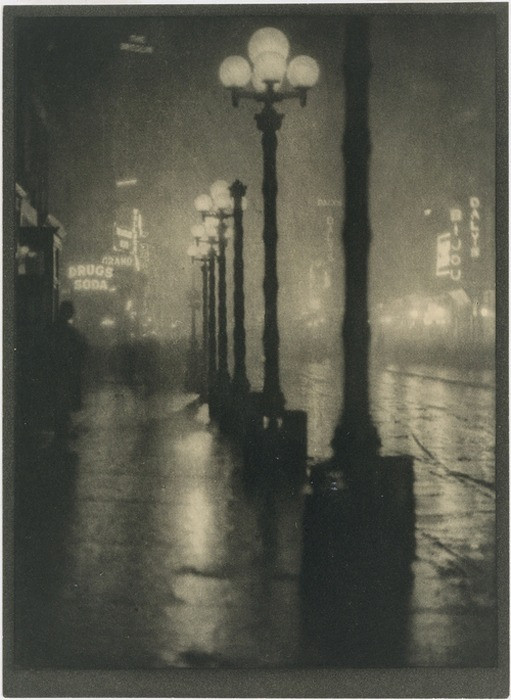 61705694380 - undr alvin langdon coburn broadway at night